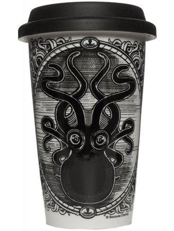 octopus kraken travel mug