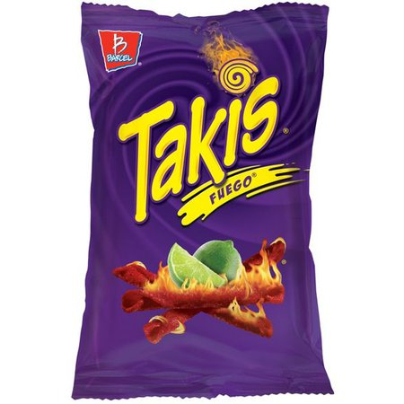 Barcel Takis Fuego Hot Chili Pepper & Lime Corn Snacks - 9.9oz : Target
