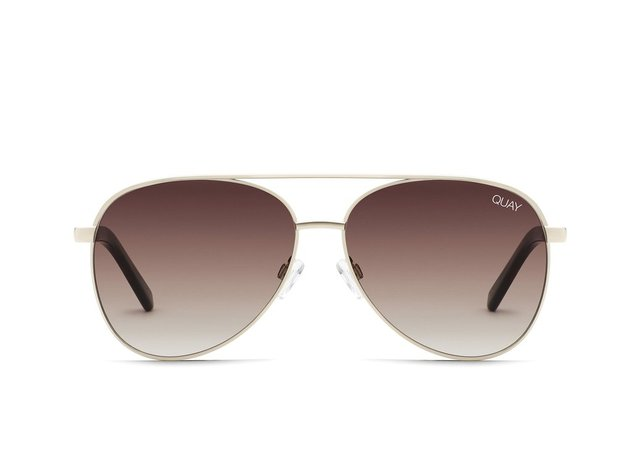 VIVIENNE MINI Aviator Sunglasses | Quay Australia