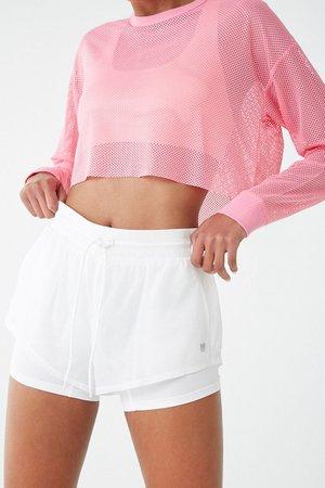 Hot Pink Mesh Top