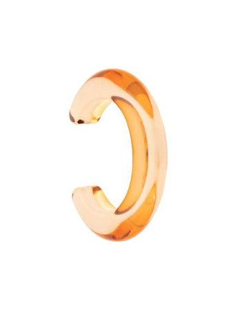 Lizzie Fortunato Jewels Ridge Cuff Bracelet FW19B007 Orange | Farfetch