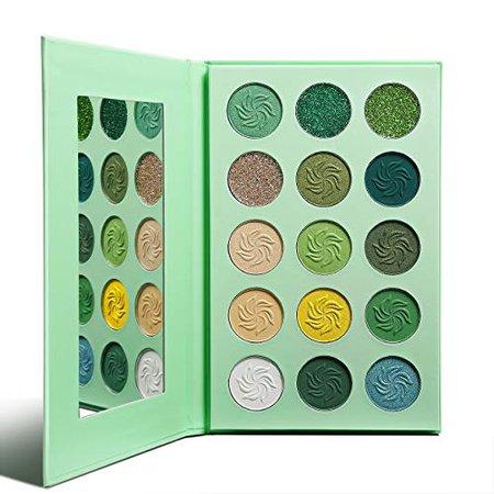 green yellow blue eyeshadow palette - Google Search