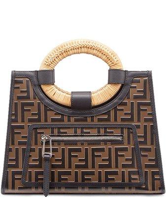 Fendi Small Runaway Shopping Tote Ss20 | Farfetch.com