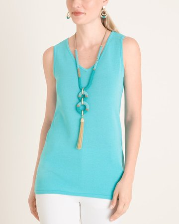 V-Neck Sweater Tank - Chico's