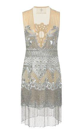 Dreamweaver Silk Mini Dress by Cucculelli Shaheen | Moda Operandi