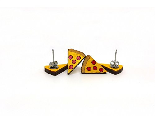 Amazon.com: Pizza Earrings: Clothing