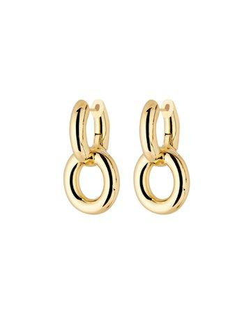 SHASHI Axel Chain-Link Drop Earrings | INTERMIX®