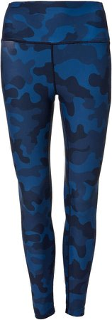 Ava Camouflage High Waisted 7/8 Tight