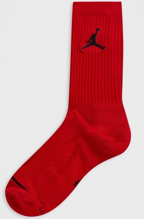 Air Jordan red socks