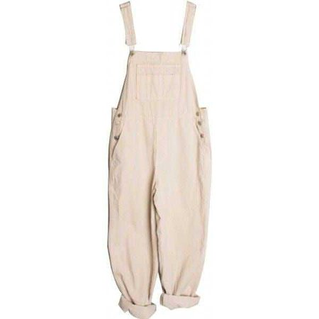 Pastel Pink Overalls - @byepolyvore PNG Collection