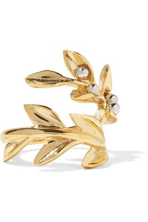 Chloé Gold Leaf Ring
