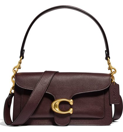 COACH Tabby 26 Mixed Leather Crossbody Bag | Nordstrom