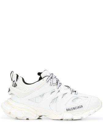 White Balenciaga Track low-top sneakers  - Farfetch