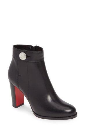 Black Boot Red Heel