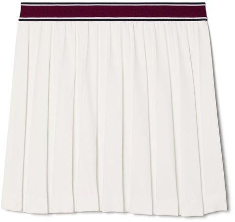 Tech Twill Pleated Tennis Skirt