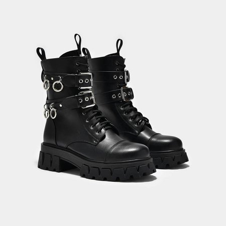 *clipped by @luci-her* Ceryx Quad Ring Boots | Koi