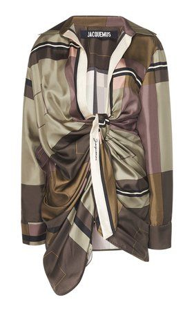 Jacquemus Bahia Silk Dress
