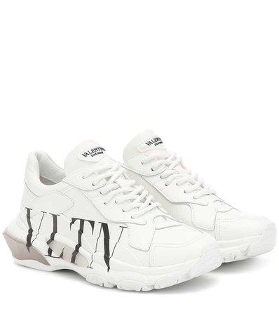VALENTINO GARAVANI Valentino Garavani Bounce leather sneakers