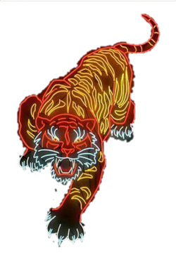 neon tiger