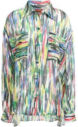 Printed Silk-georgette Shirt