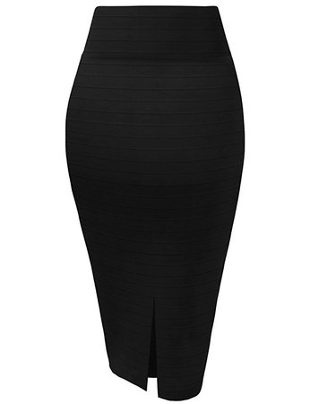 HyBrid & Company Womens Premium Stretch Office Pencil Skirt Made in USA at Amazon Women's Clothing store: