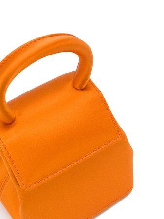 Rubeus Liza Micro top-handle Satin Bag - Farfetch