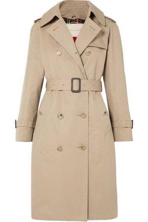 Mackintosh - Muirkirk Cotton-gabardine Trench Coat - Beige