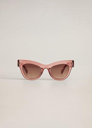Acetate frame sunglasses - Woman | Mango Cyprus (Euros)
