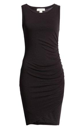 Treasure & Bond Ruched Sleeveless Jersey Dress   Nordstrom