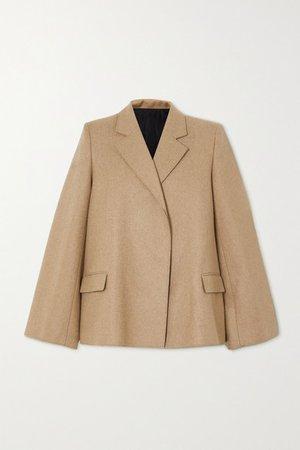 Bonce Wool-blend Blazer - Beige