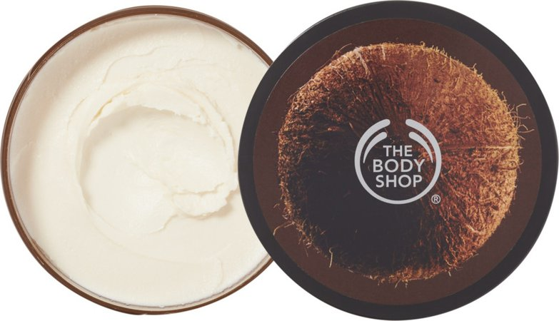coconut body butter (The Body Shop)
