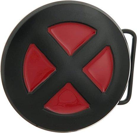 Amazon.com: X-Men Black/Red Belt Buckle: Clothing