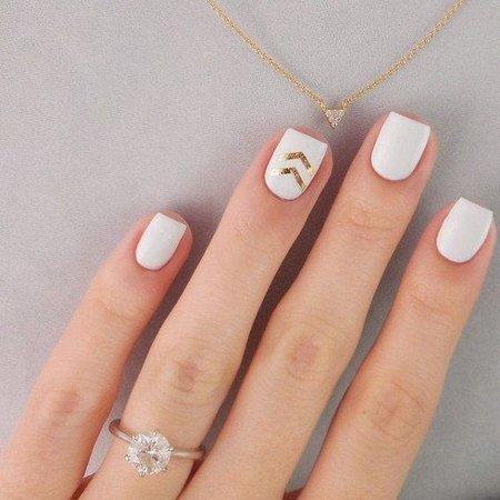 pinterest - white nails