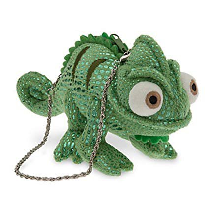 Amazon.com : Disney Tangled Pascal the Chameleon Plush Coin Purse - Green Model: Baby