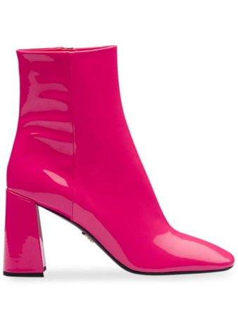 Prada square-toe Boots - Farfetch