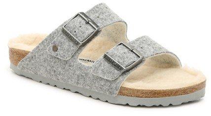 Arizona Happy Lamb Slide Sandal - Women's
