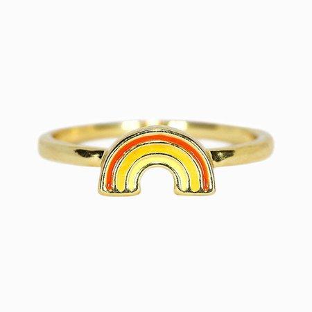 Rainbow Ring | Pura Vida Bracelets