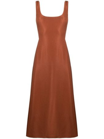 Gabriela Hearst Платье A-силуэта с Квадратным Вырезом - Farfetch