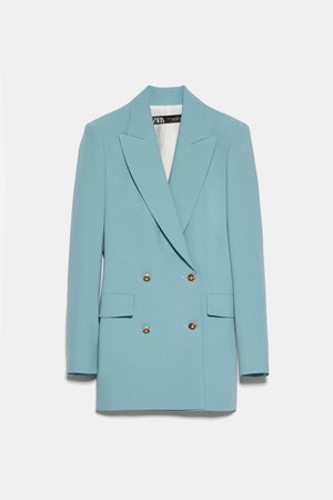 DOUBLE BREASTED BUTTONED BLAZER | ZARA United States