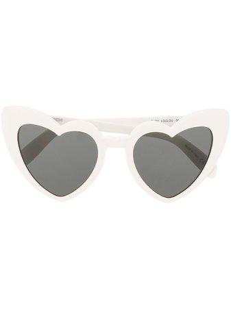 Saint Laurent Eyewear heart sunglasses