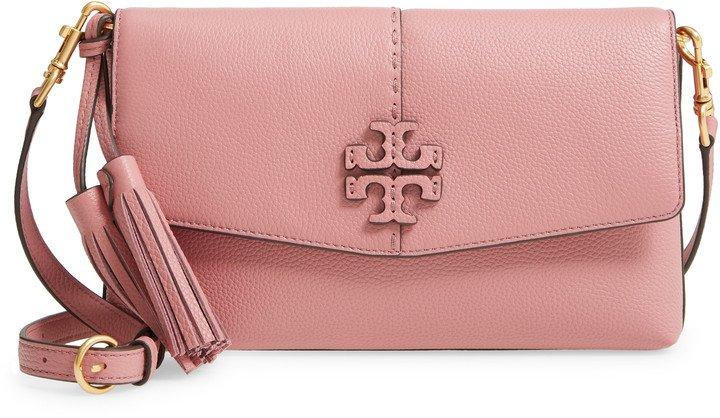 McGraw Leather Crossbody Bag