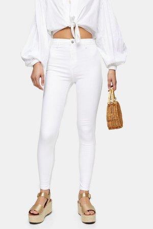 White Joni Skinny Jeans | Topshop