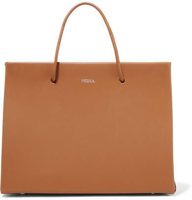 MEDEA - Prima Hanna Small Leather Tote - Tan