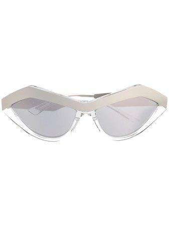 Bottega Veneta Eyewear Tonade Cat eye-solglasögon - Farfetch
