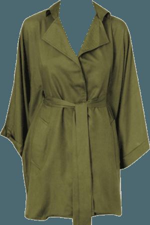 Green olive dress