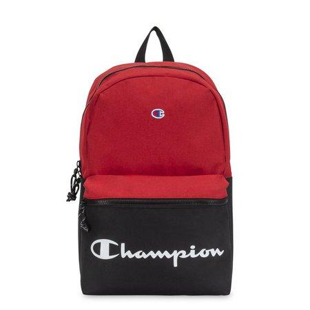 Champion - Champion Manuscript Backpack, Bright Red - Walmart.com - Walmart.com