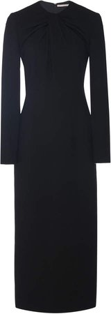 Remy Stretch-Crepe Midi Dress