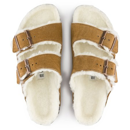 Arizona Suede Leather Mink | shop online at BIRKENSTOCK