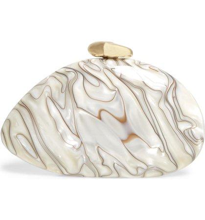 Benedetta Bruzziches Ariel Dune Plexiglas® Clutch | Nordstrom