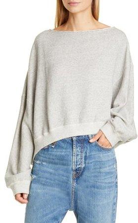 Patti Wide Neck Sweatshirt